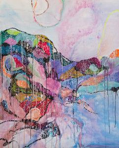 ARTicles Art Gallery Davina Shefet acrylic and ink on canvas