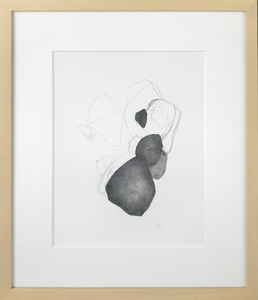 ARTicles Art Gallery Michael Crabb ink and graphite on vellum (framed)