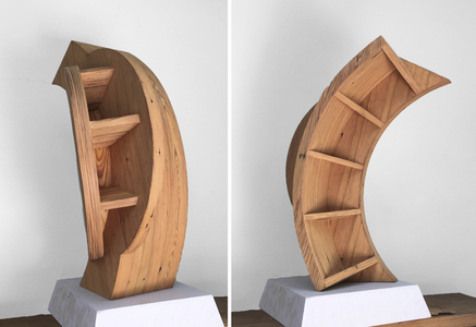 ARTicles Art Gallery Charles Parkhill plywood, pine veneer