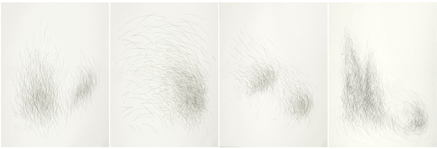 ARTicles Art Gallery Akiko Kotani graphite on paper