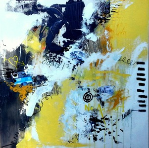 Barbara Mosher Dynamical Mixed Media on gallery wrapped canvas