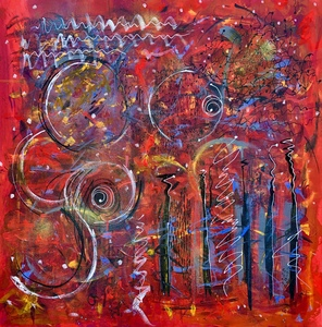 Barbara Mosher Dynamical Mixed media