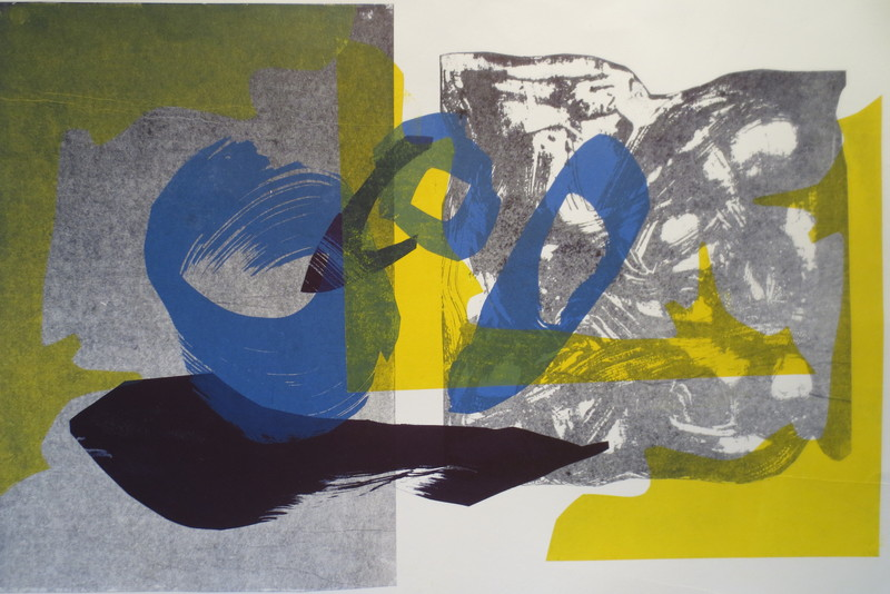 Barbara Shapiro Remembrances Pronto Plate Lithography