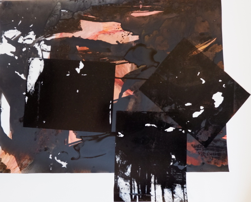 Barbara Shapiro Works on Mylar: Patterns Monotype