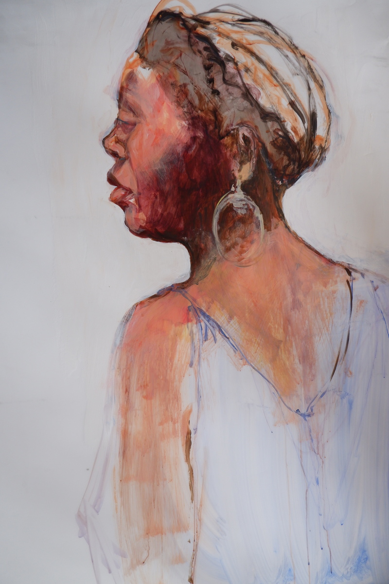 Barbara Shapiro Works on Mylar: Painted Figures