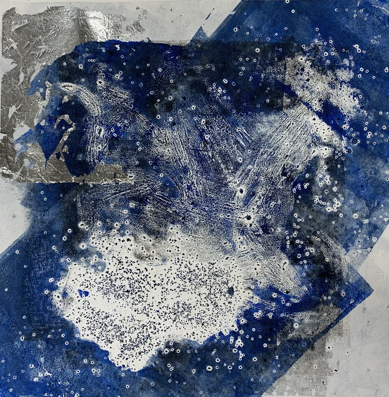 Barbara Shapiro Night Sky Carborundum print