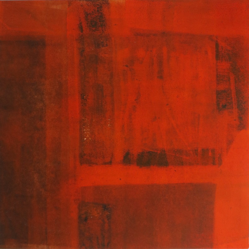 Barbara Shapiro Red Hot Monotype