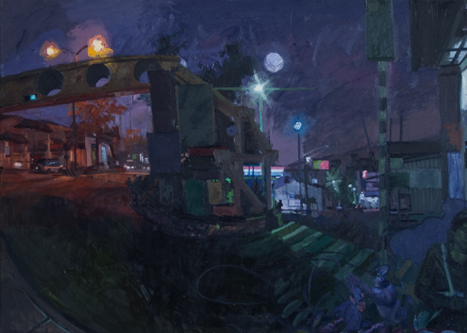 Painting Archive Night Scene