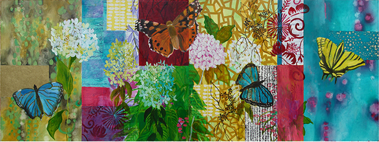 Paintings on Paper Mark's Butterflies