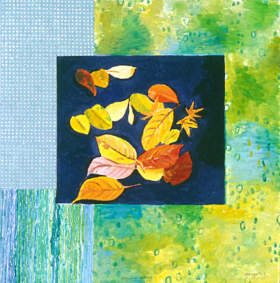 Small Monotypes Garden Leaves