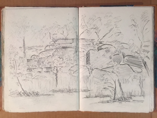 BILL FRAZIER SKETCH BOOK