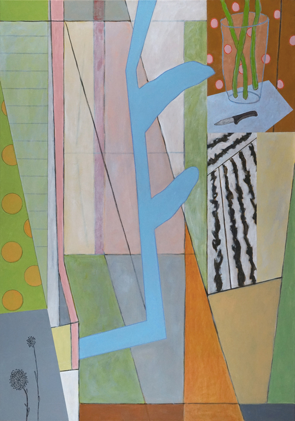 BILL FRAZIER LARGER PAINTINGS Acrylic, Charcoal and Graphite on Canvas