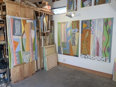 BILL FRAZIER STUDIO VIEW