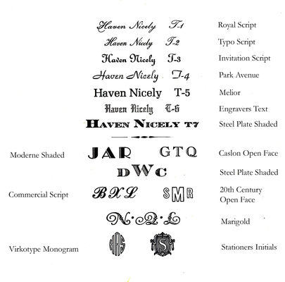 Bird Forest Press Fonts