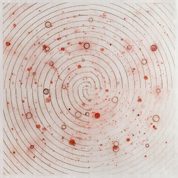 CAROLYN WEBB  What Was Scattered Gathers Drypoint