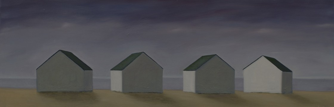 CELINE MCDONALD  Cottages / Sheds / Barns oil on canvas