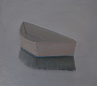 CELINE MCDONALD Boats oil on paper