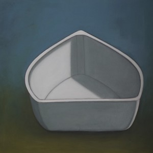 CELINE MCDONALD Boats oil on canvas