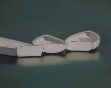 CELINE MCDONALD Small Paintings oil on paper