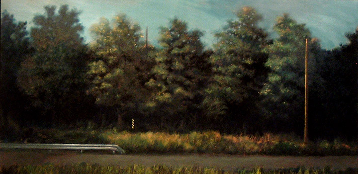 Christopher Brennan Landscapes Oil on Canvas
