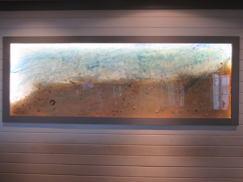 CRIS REVERDY Commercial Projects Resin, Paint, Sand, Shells