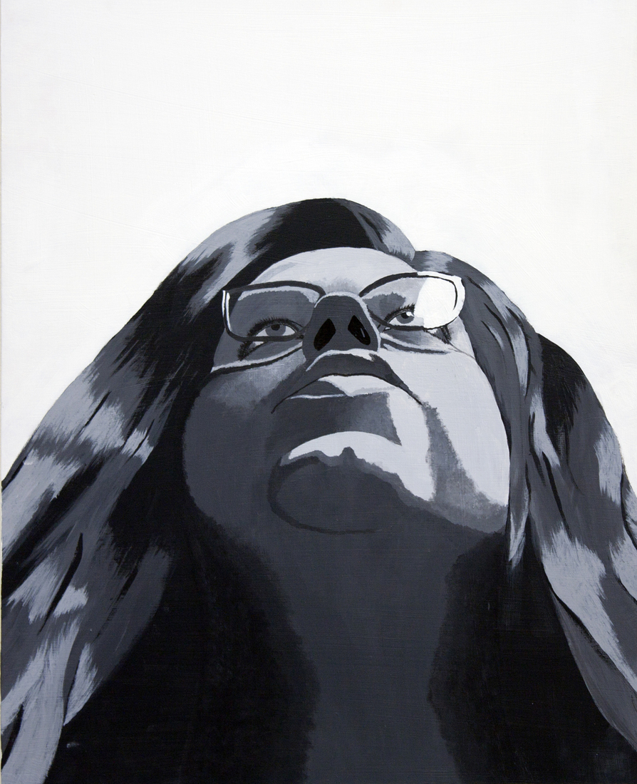 Student Work Portrait: Monochromatic