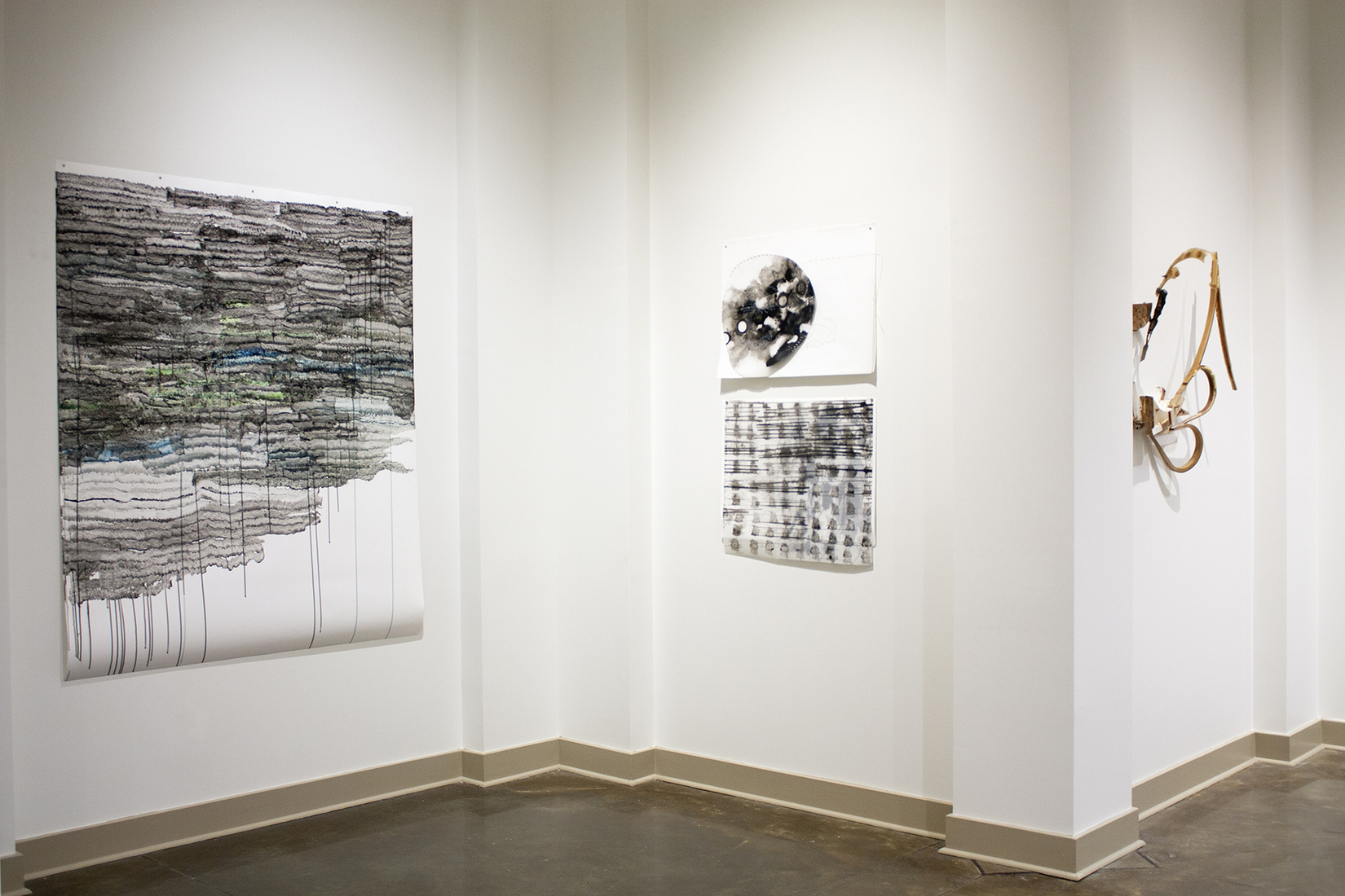 sprue, sprout, re-route Installation View