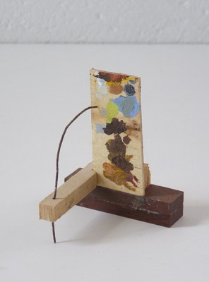 David McDonald Tiny Histories Wood, Wire, Acrylic