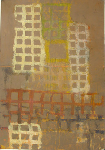 David McDonald Works on Paper Oil on Paper
