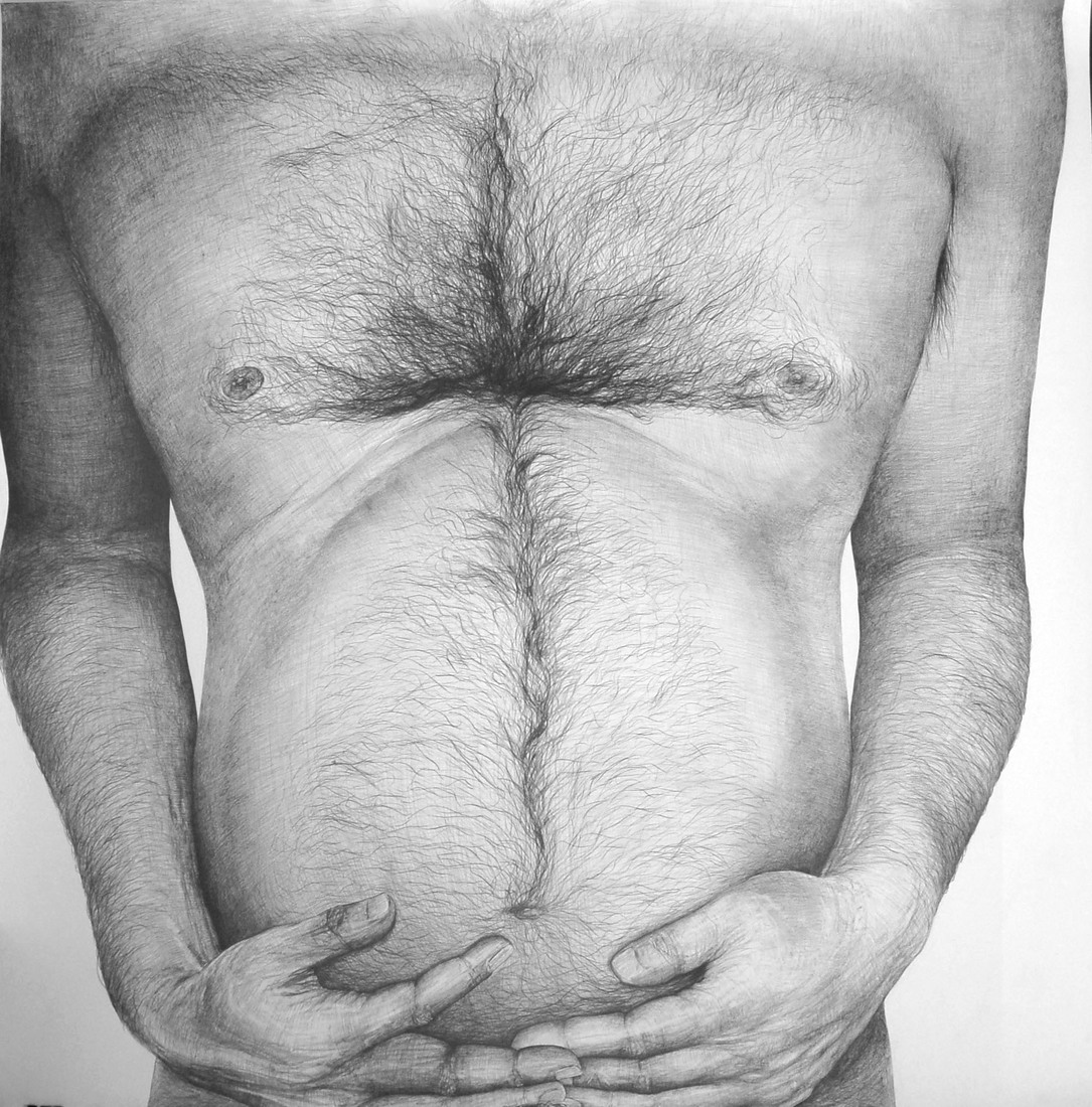 Drawings 2008-2010 Untitled (Belly) / Sans titre (Ventre)