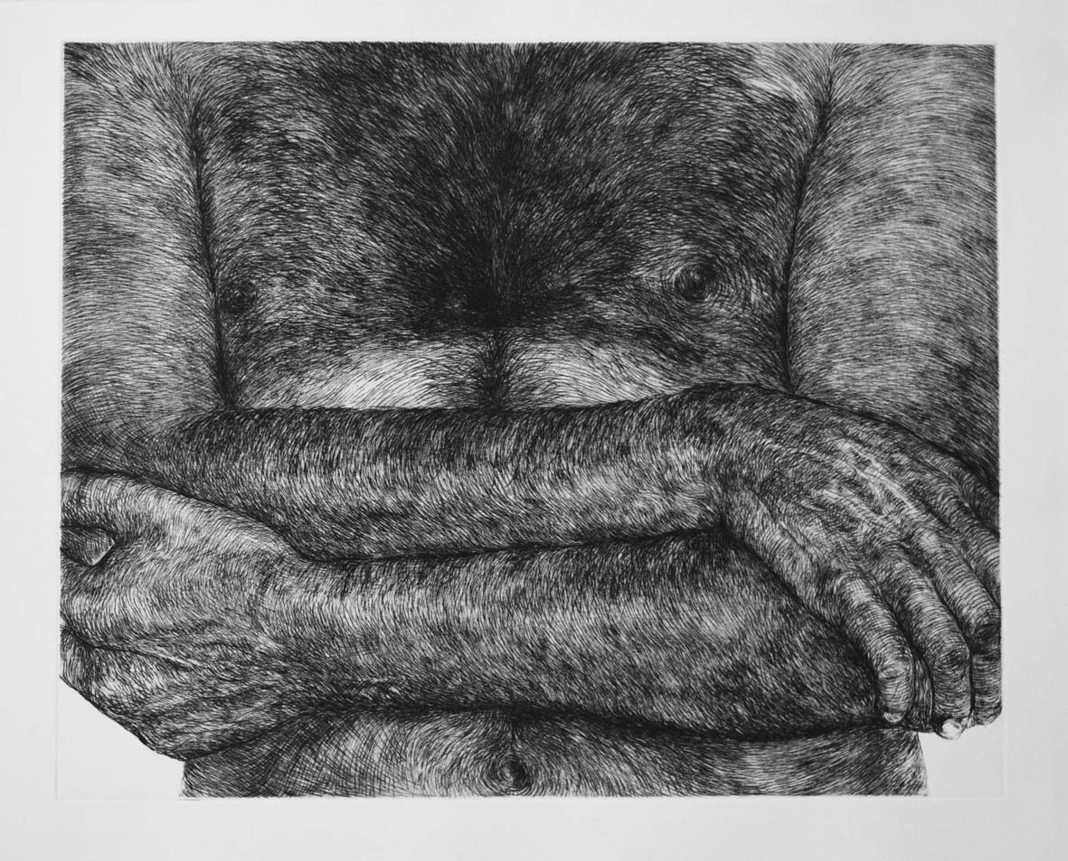 Prints / Estampes Untitled (Man's chest ) / Sans titre (Poitrine d'homme)