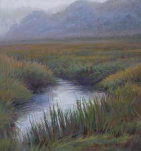 ED CHESNOVITCH Landscape Paintings