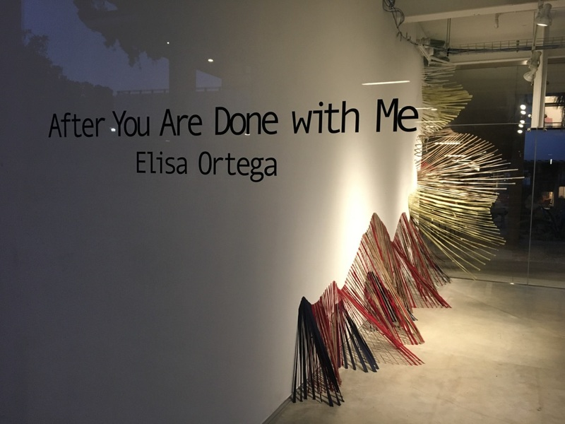 ELISA ORTEGA MONTILLA After You Are Done with Me Reclaimed second-hand bed sheets