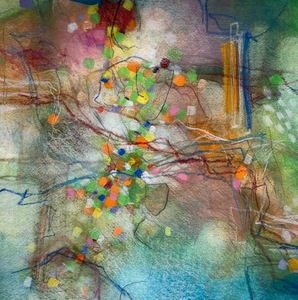 Erika Manning Works on Paper Mixed Media