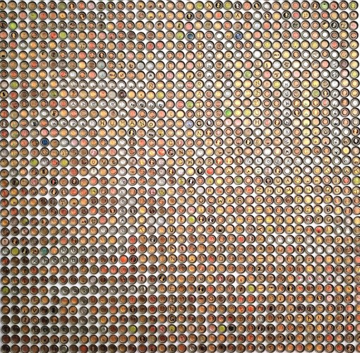 Eung Ho Park coins Mixed media