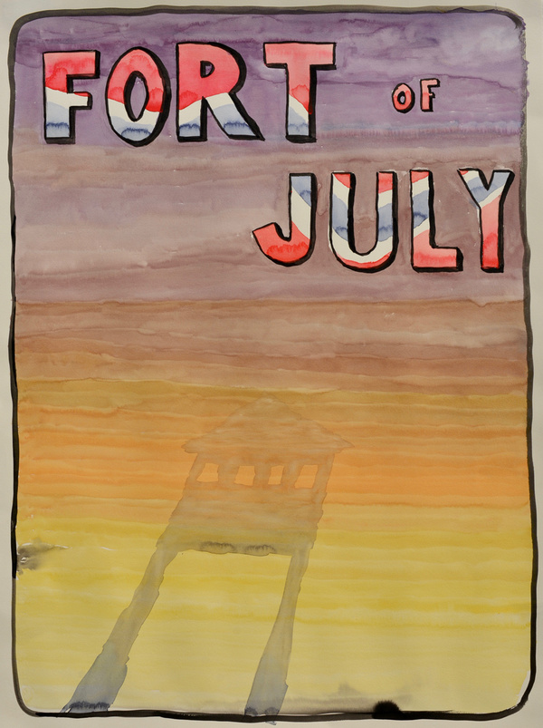 Evan Clarrissimeaux Fort of July