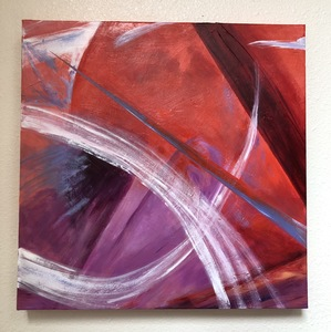Ginna Heiden paintings acrylic on gallery canvas