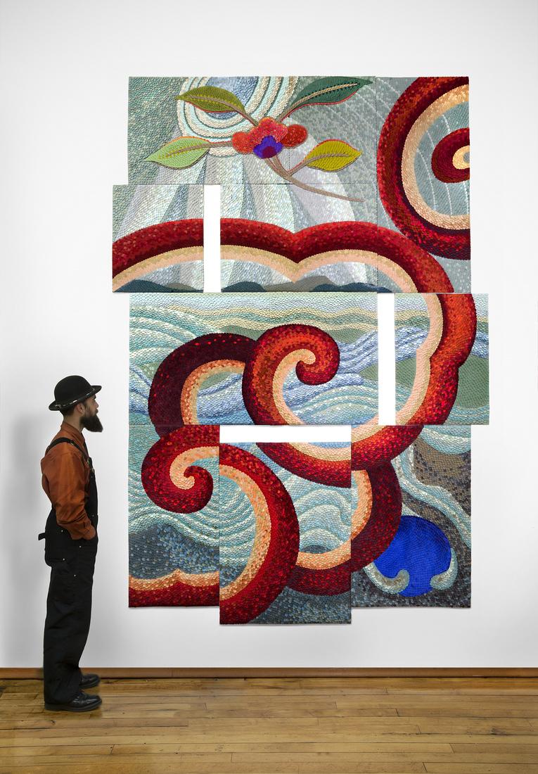 GERHARDT KNODEL Minglings: A Journey Across Time: 2015-2017 Flower Powered, 2015-2017
