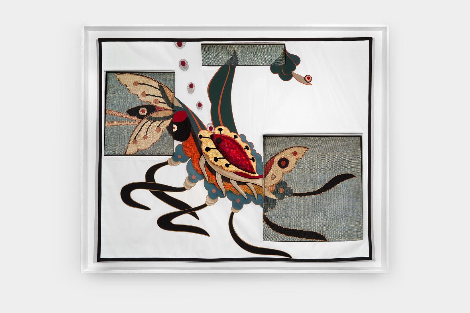 GERHARDT KNODEL Minglings: A Journey Across Time: 2015-2017 Genomia, Marvolia, Propogacia, 2015-2017, 74 x 92 x 6 in.