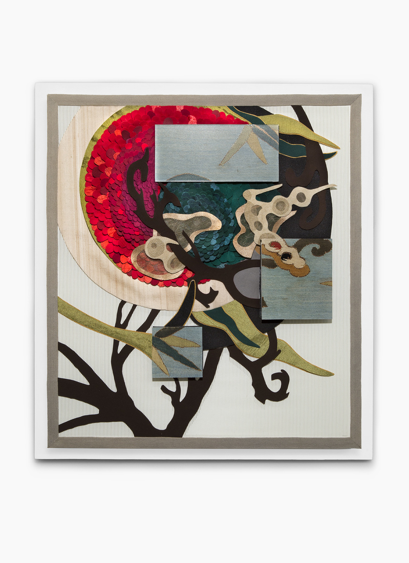 GERHARDT KNODEL Minglings: A Journey Across Time: 2015-2017 Things That Get Caught in a Tree After a Storm: Red, 2015-2017, 29 x 26 x 3 in.