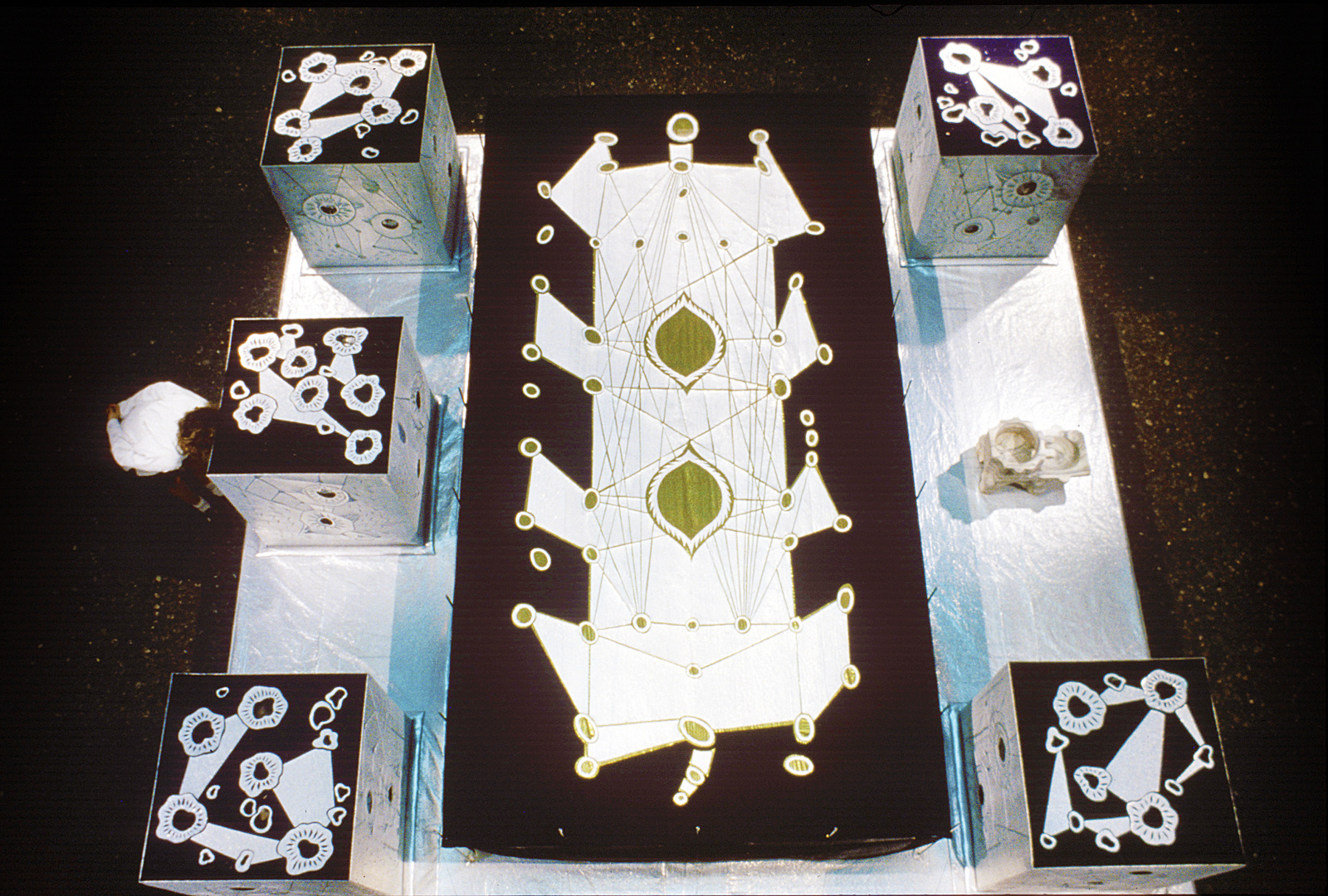 GERHARDT KNODEL Installation Work 1989-1997 Nightshade, Detroit Institute of Arts, 1995