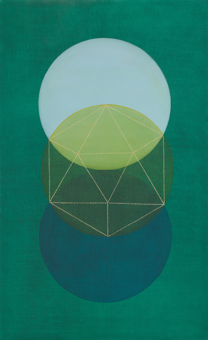 Platonic Solids Series Water (Green)