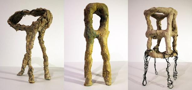 GRIDSPACE Julia Klein: Small Sculptures