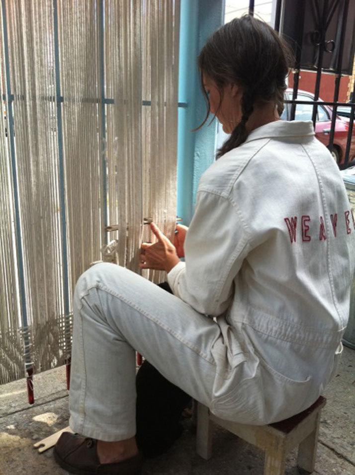GRIDSPACE Jen Bervin: Weaving