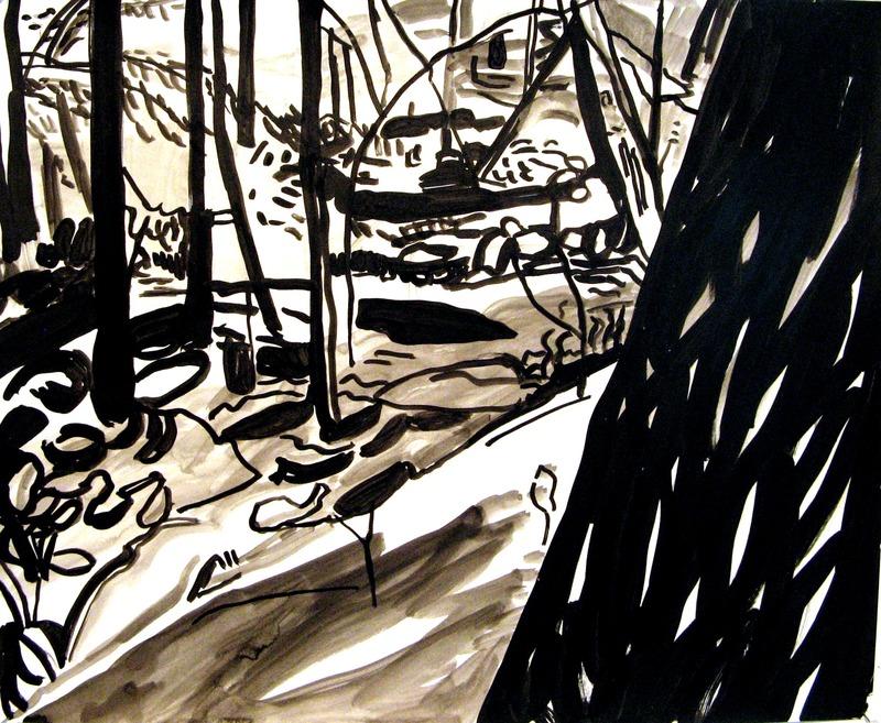 iris osterman ink drawings