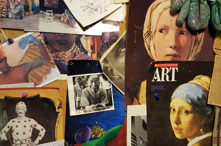 JEWISH ARTISTS COLLECTIVE CHICAGO IN THE STUDIO