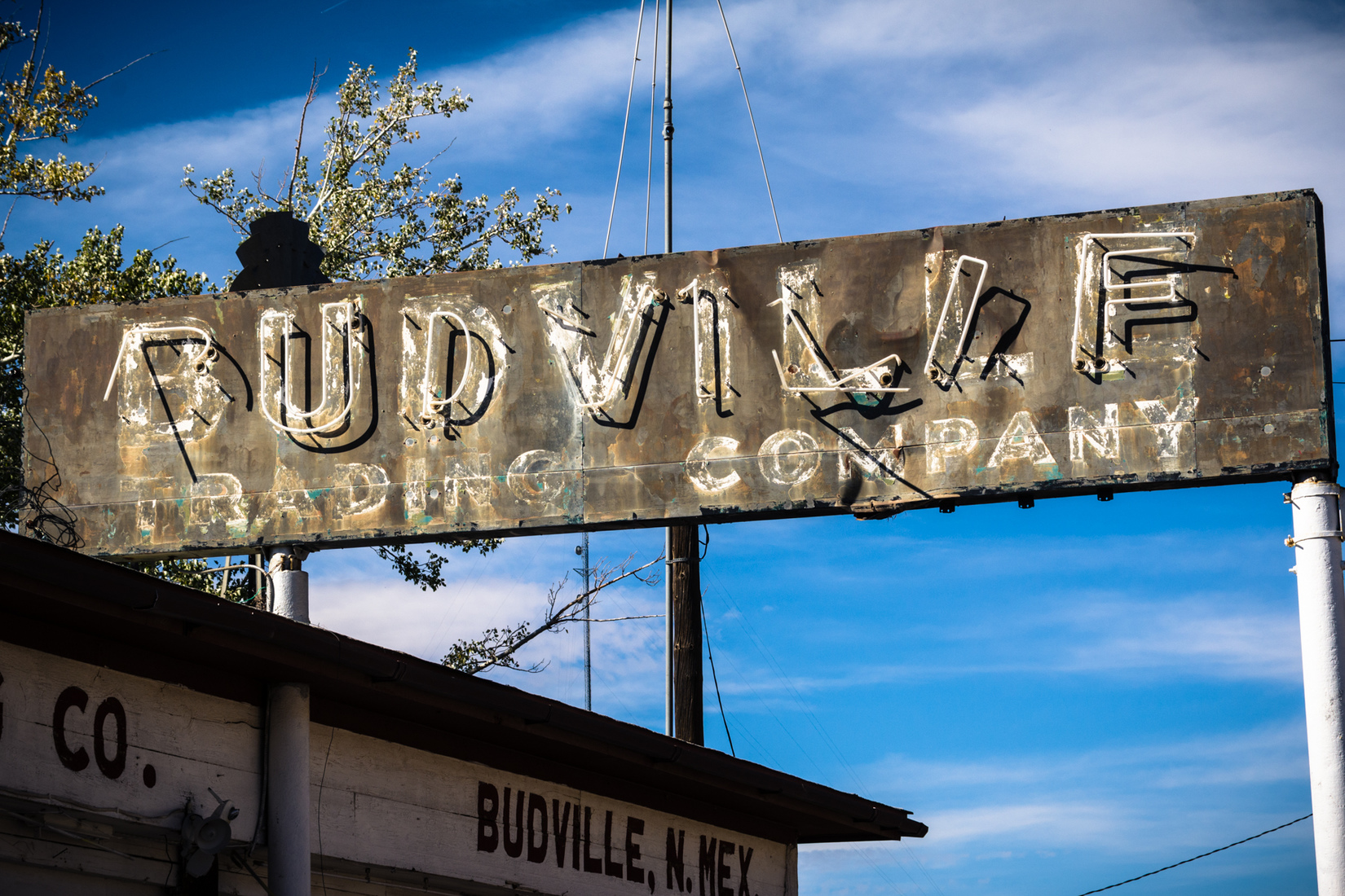 Road Signs Budville Trading Company