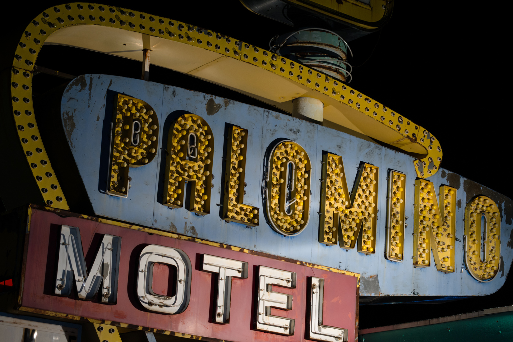 Road Signs Palomino Motel