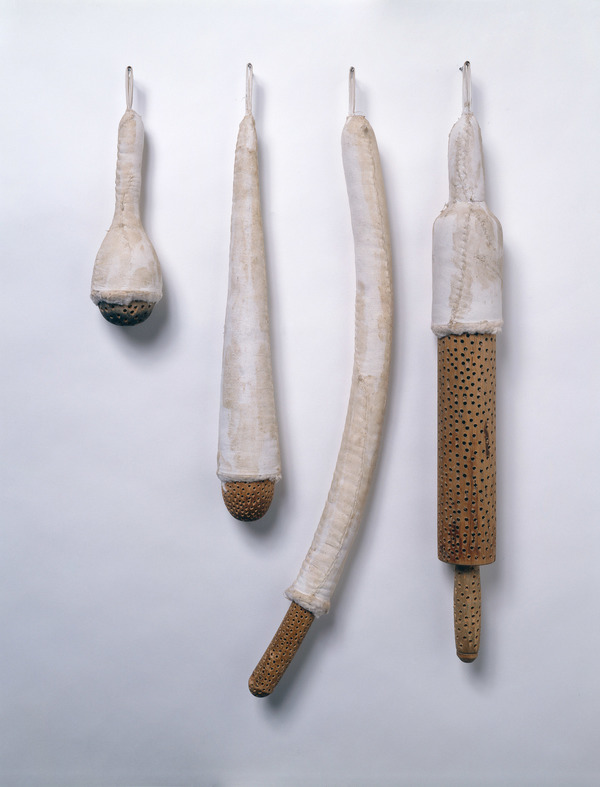 Janice Redman: Sculptor 2000 wood, cotton, wax