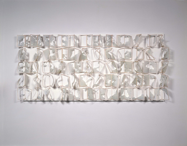 Janice Redman: Sculptor Works With Paper Vellum, metal pins